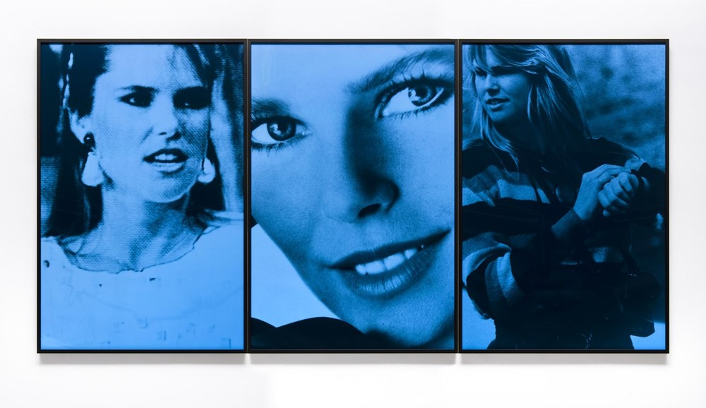 Blue Obsession, 1983-2015© Vikky Alexander, courtesy of Cooper Cole Gallery