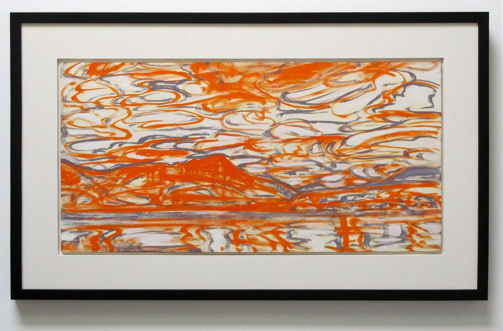 Untitled/ Orange/ Landscape