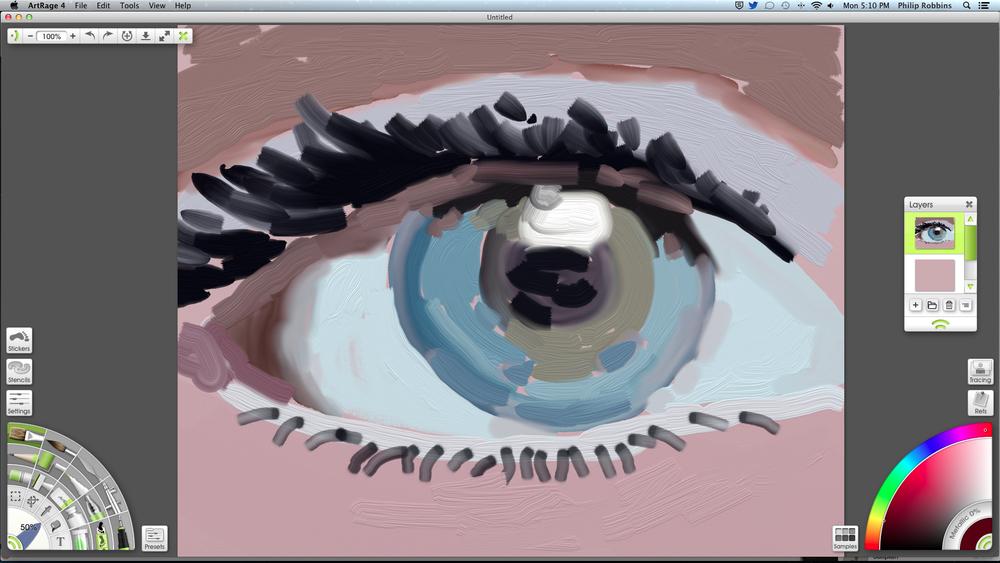 Screen shot of Art Rage