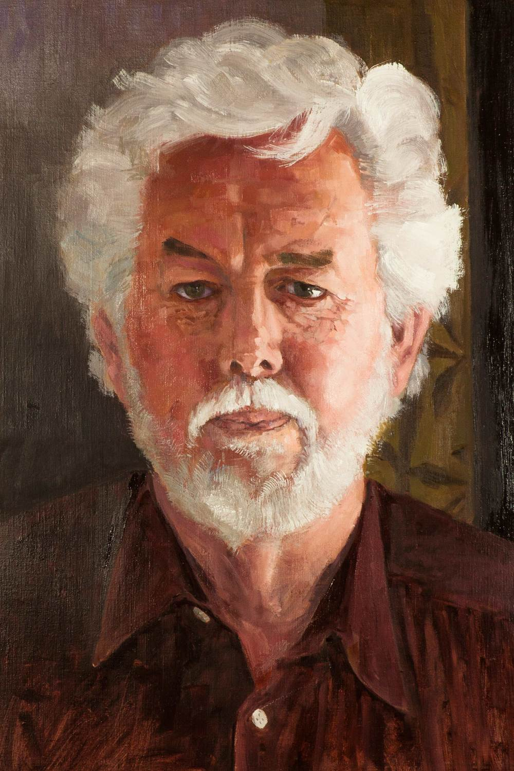 A Guy Named Denis  12 x 18 Oil on linen