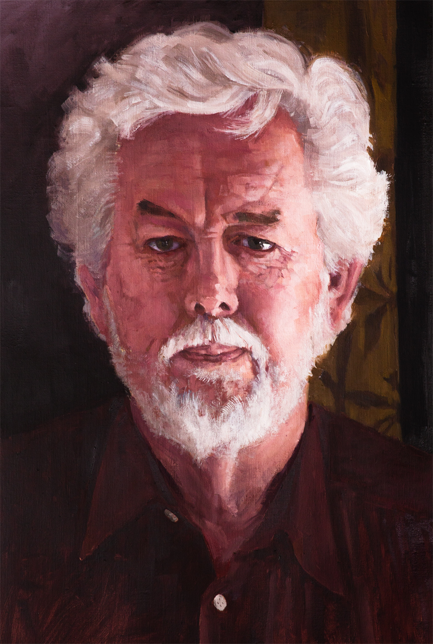 A Guy Name Denis Oil on linen 12 x 18