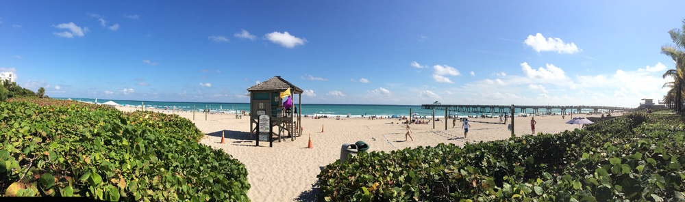 Deerfield Beach Fl. Beach Volley Ball courts