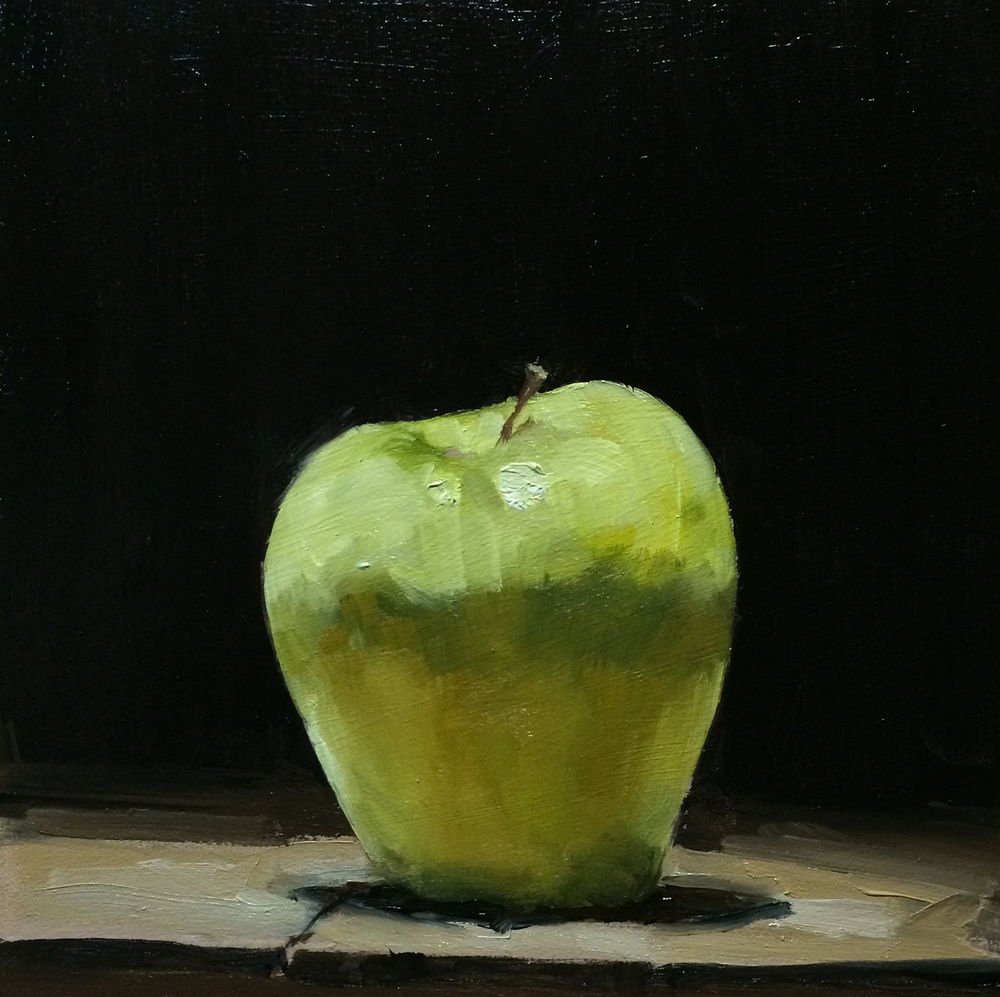 6 x 6 oil on panel ©Jim Kingston all rights reserved