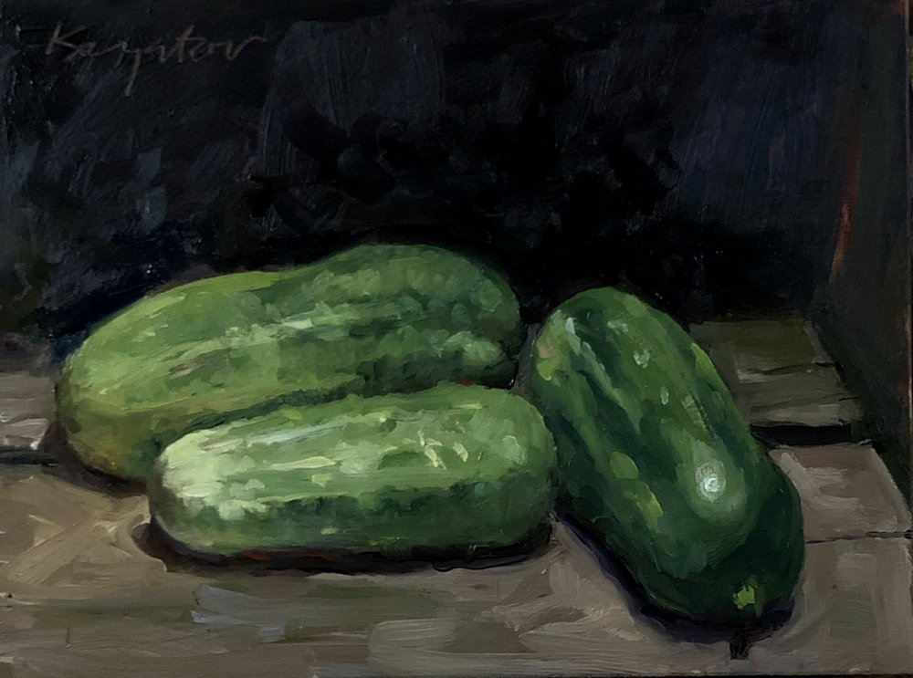 In a pickle  O/P 6 x8. 2018