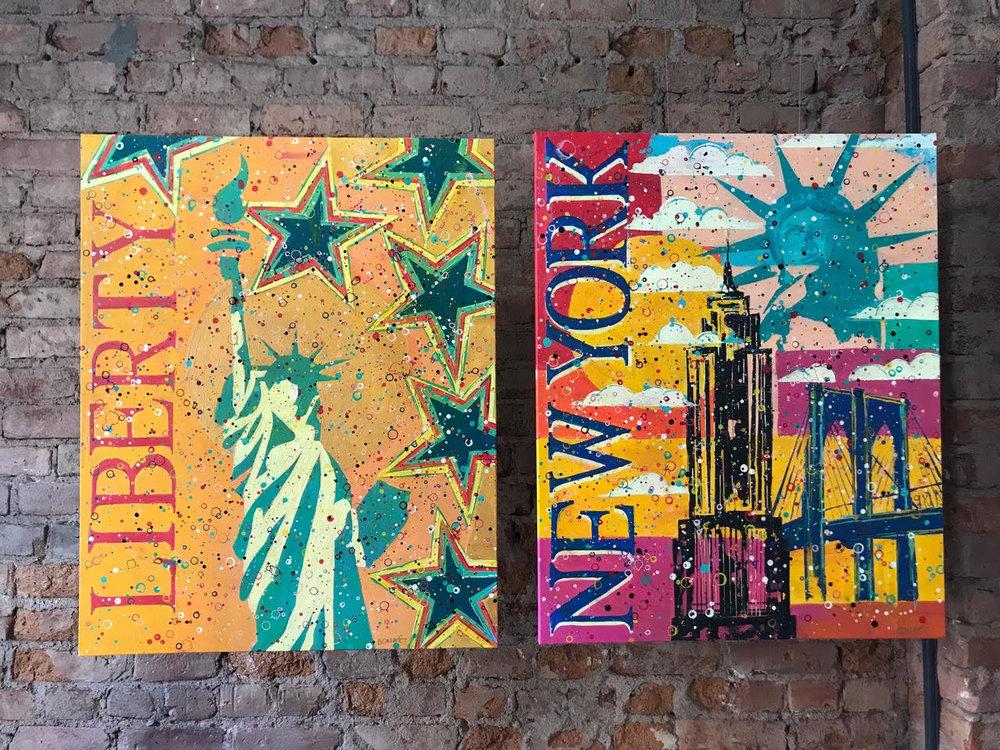 Liberty & Newyork