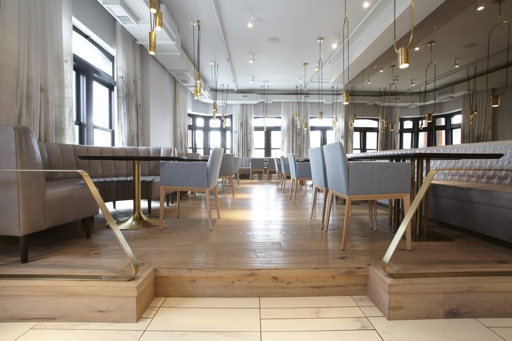 North on Sixty oversees wood & metal work at Alo