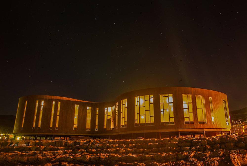 Kebony-clad Illusuak Cultural Centre is now complete!