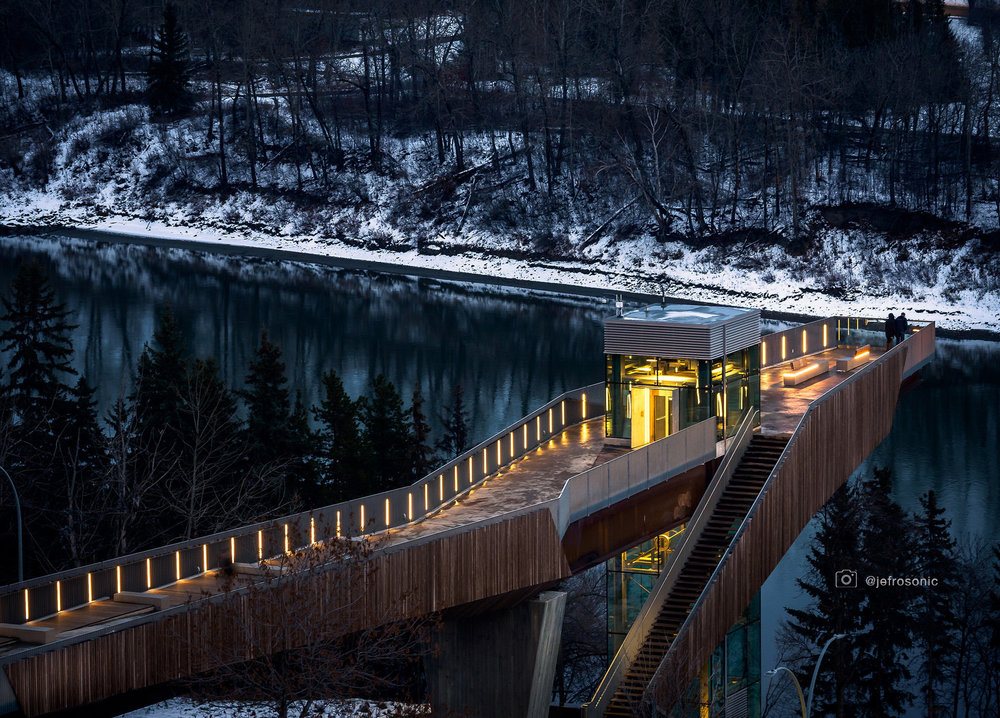Edmonton Funicular provides city with entrance to its treasured River Valley