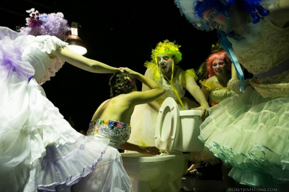 The Lily's Revenge , The American Repertory Theater, photo credit: Joel Zayac