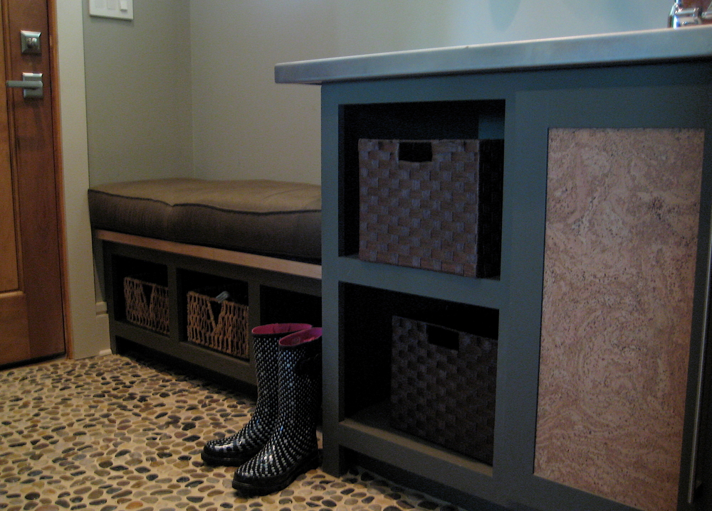"""SouthernLiving Idea House 2008 Davidson Gap"" Mudroom"