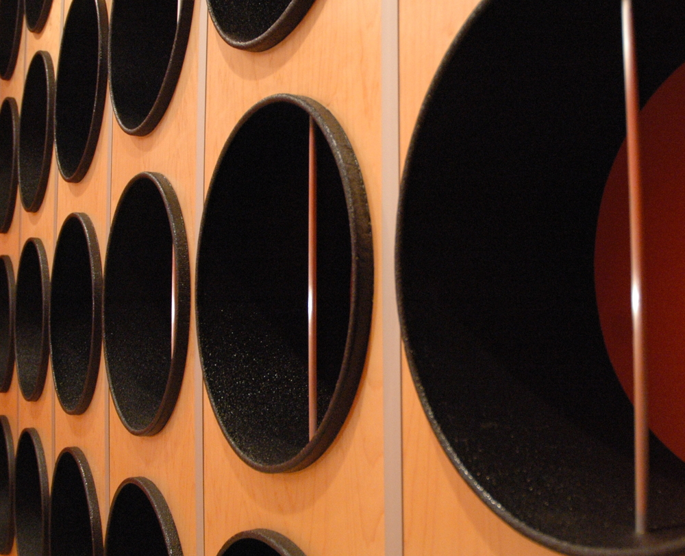 Wine Rack Detail