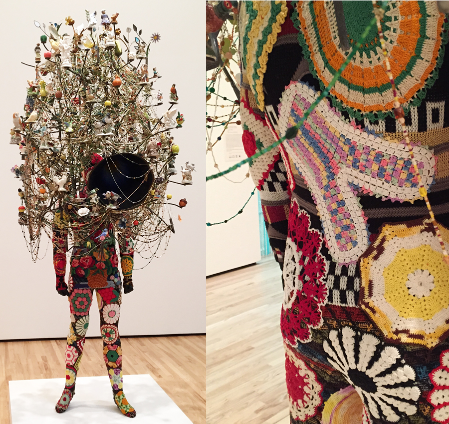 Soundsuit  ,   Nick Cave,   2013. Baltimore Museum of Art.