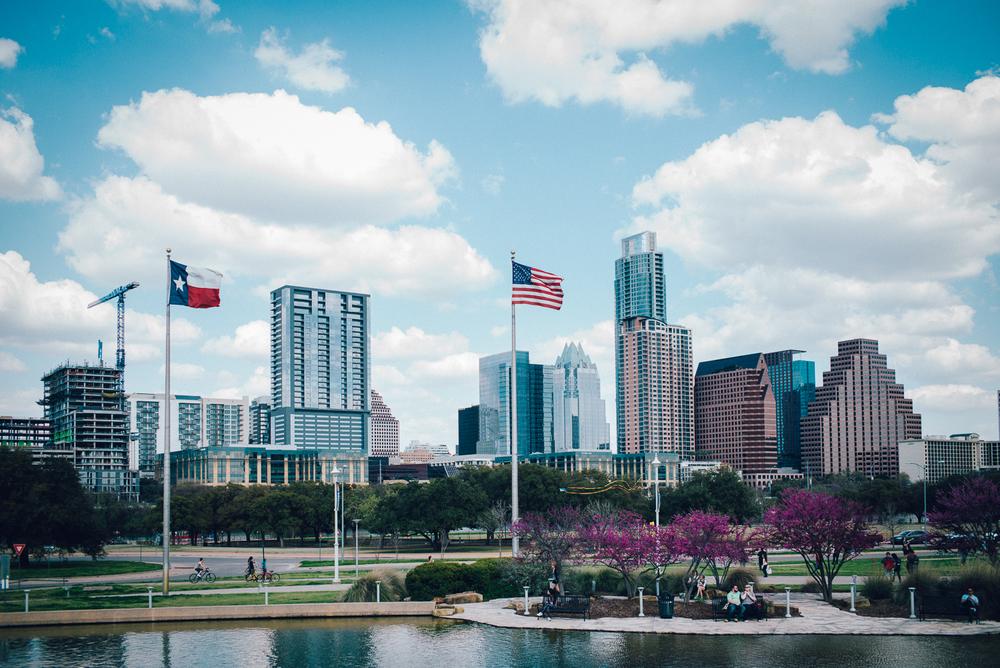 Austin Downtown Skyline Texas SXSW 2015 Michael Lim Photography