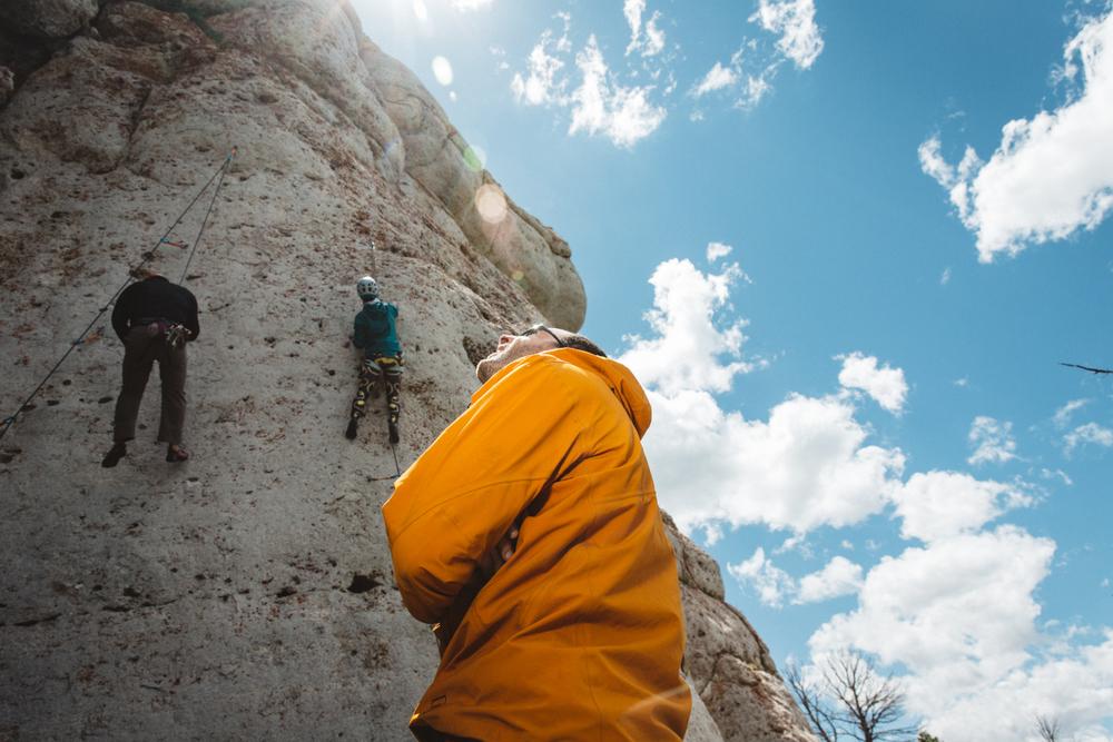 International Climber's Festival Clinic