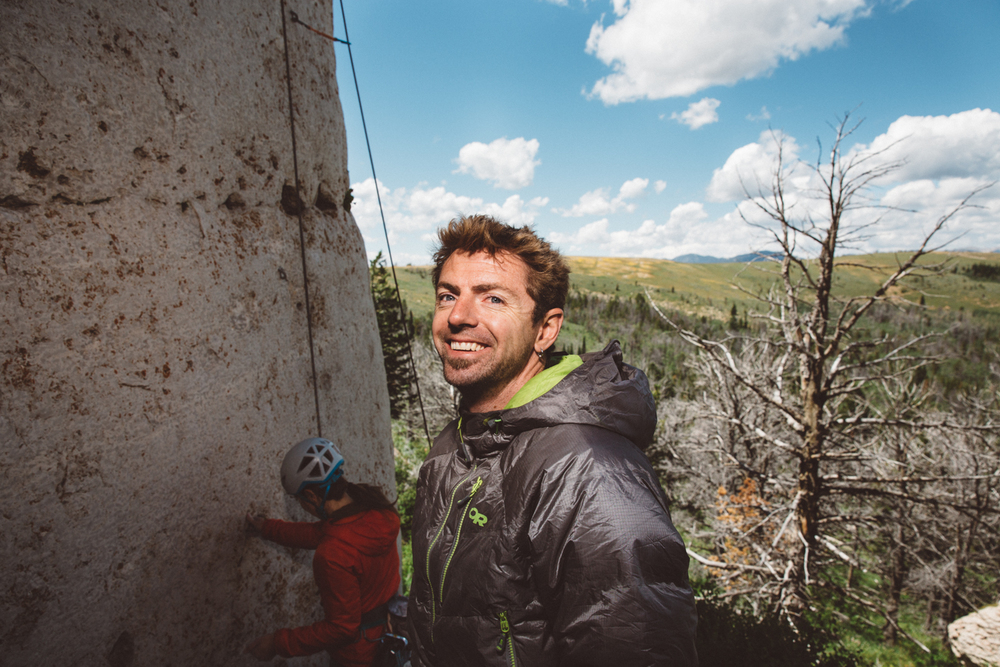 Kevin Wilkinson International Climber's Festival Fall Safe Clinic