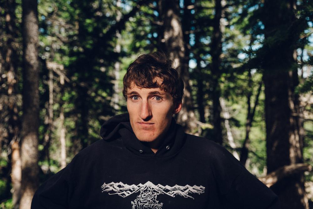 Hayden Kennedy Portrait Outtake International Climber's Festival