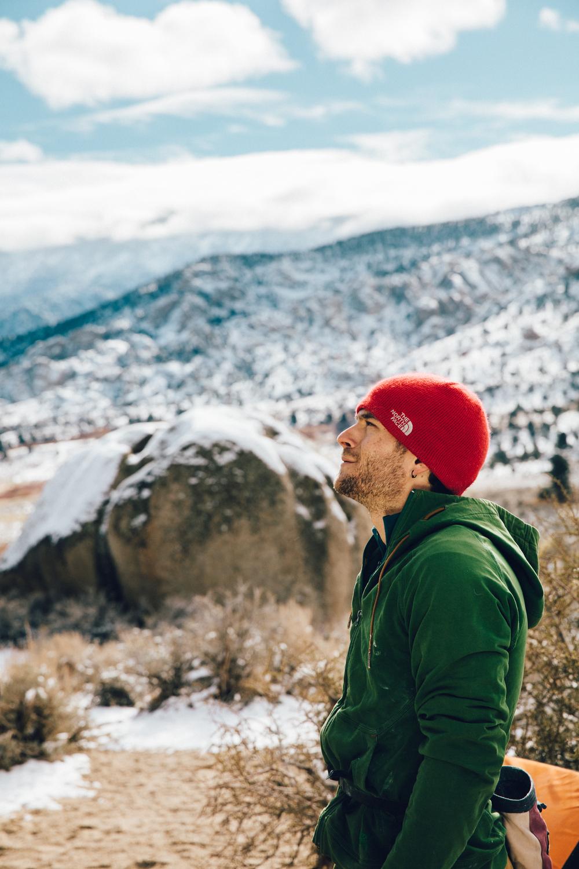 Brett Portrait Rock Climber