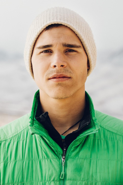 Matt DeSalvo Rock Climber Portrait