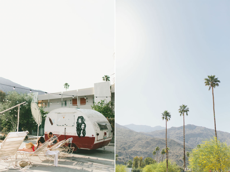 Palm Springs , I felt like I was sent back in time and I  loved it.