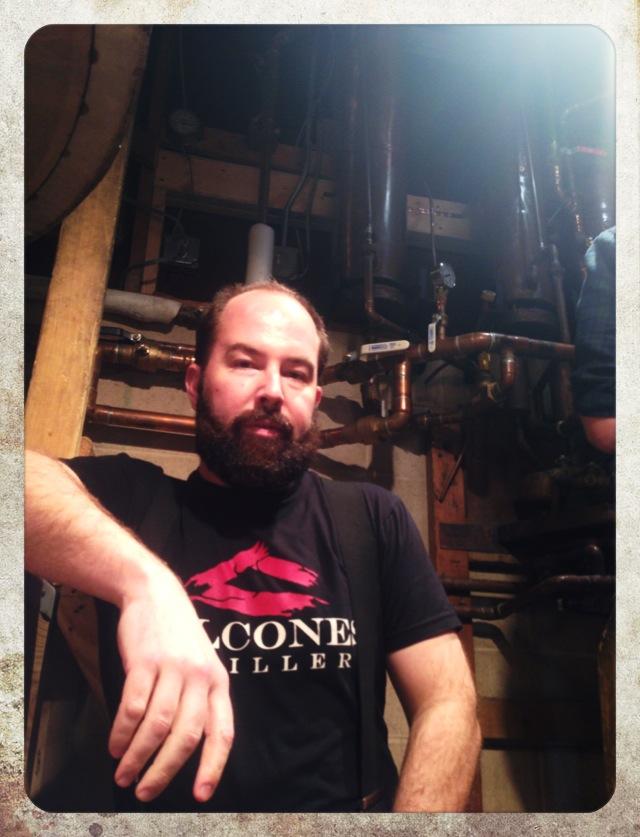 Chip Tate, head distiller, Balcones Distilling