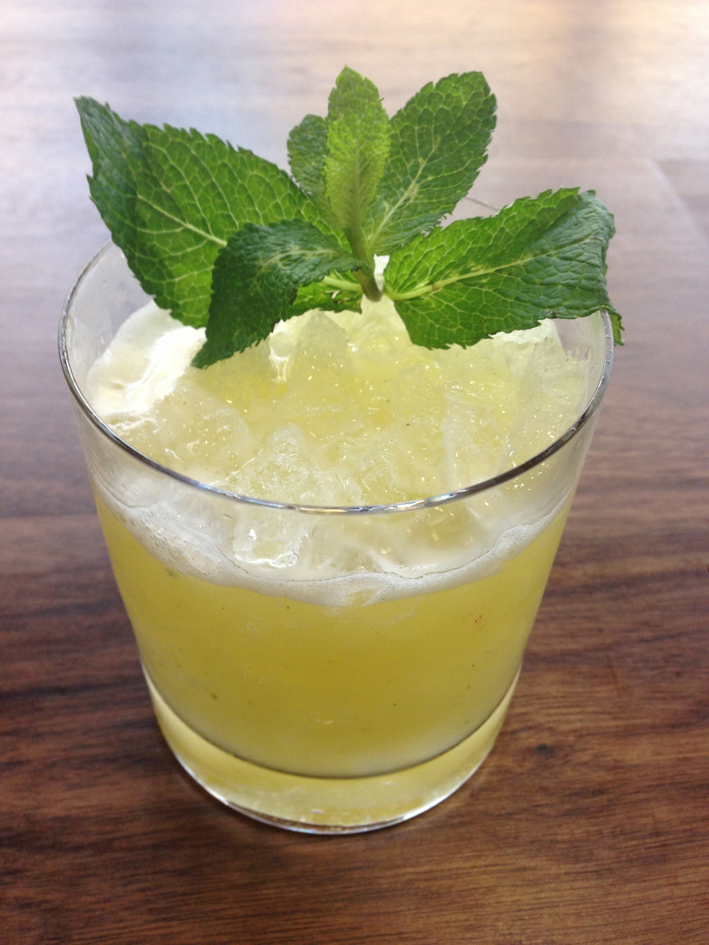 THE EXUMA (Rum, Fresh Pineapple, Mint, Lime, Sugar)