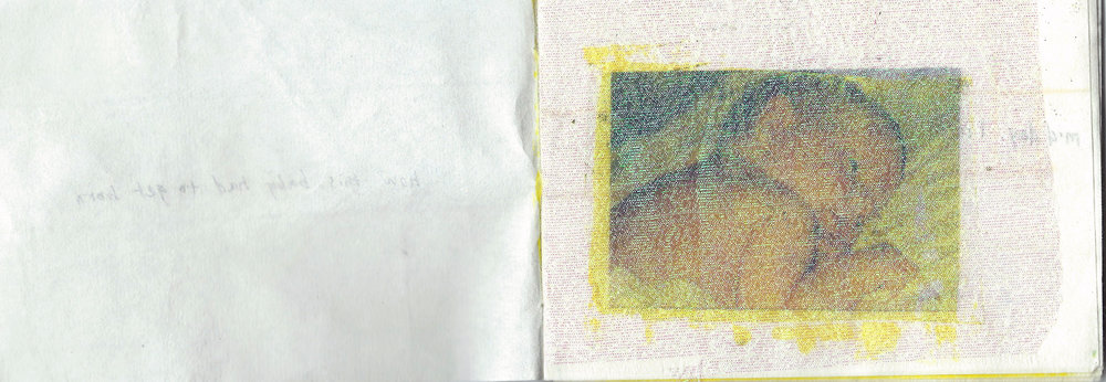 """6"""" x 4.5"""" in collaboration with Julia Kindall"""