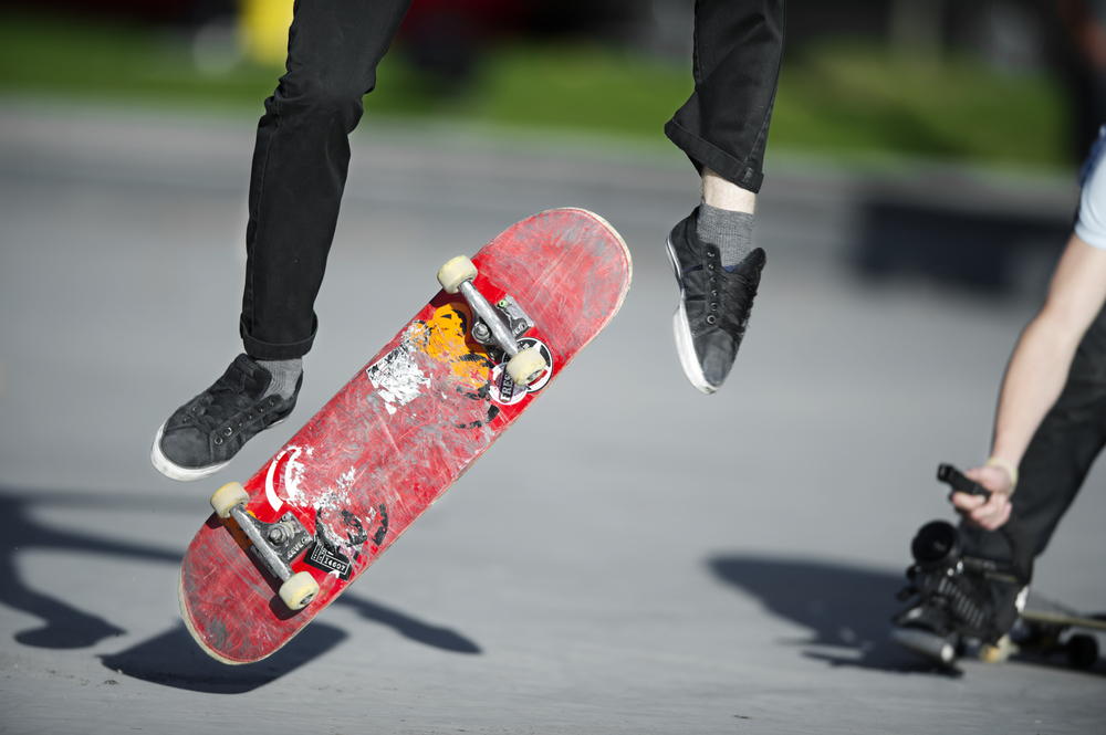 Youth Center members film and release a skateboarding video every year.