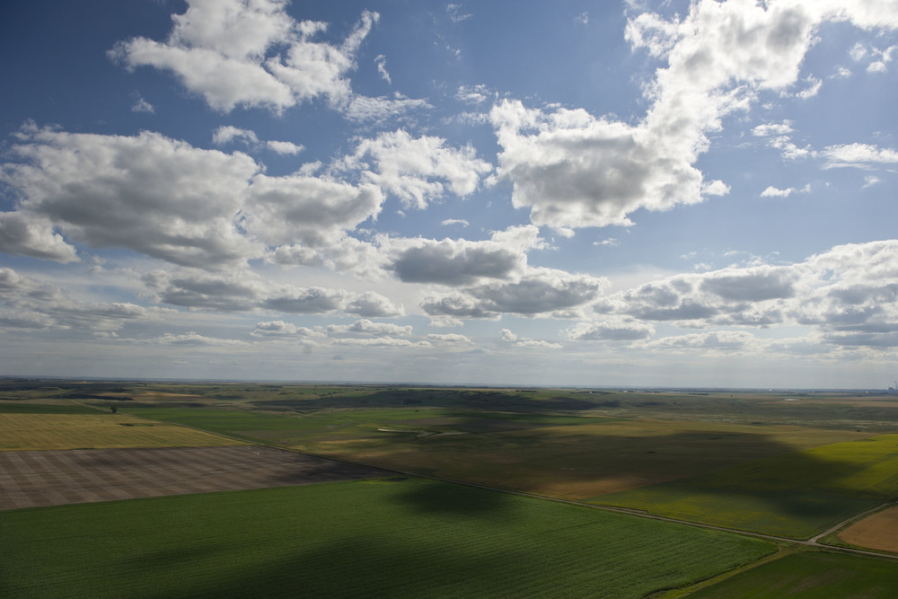 Agriculture in McLean County, ND.