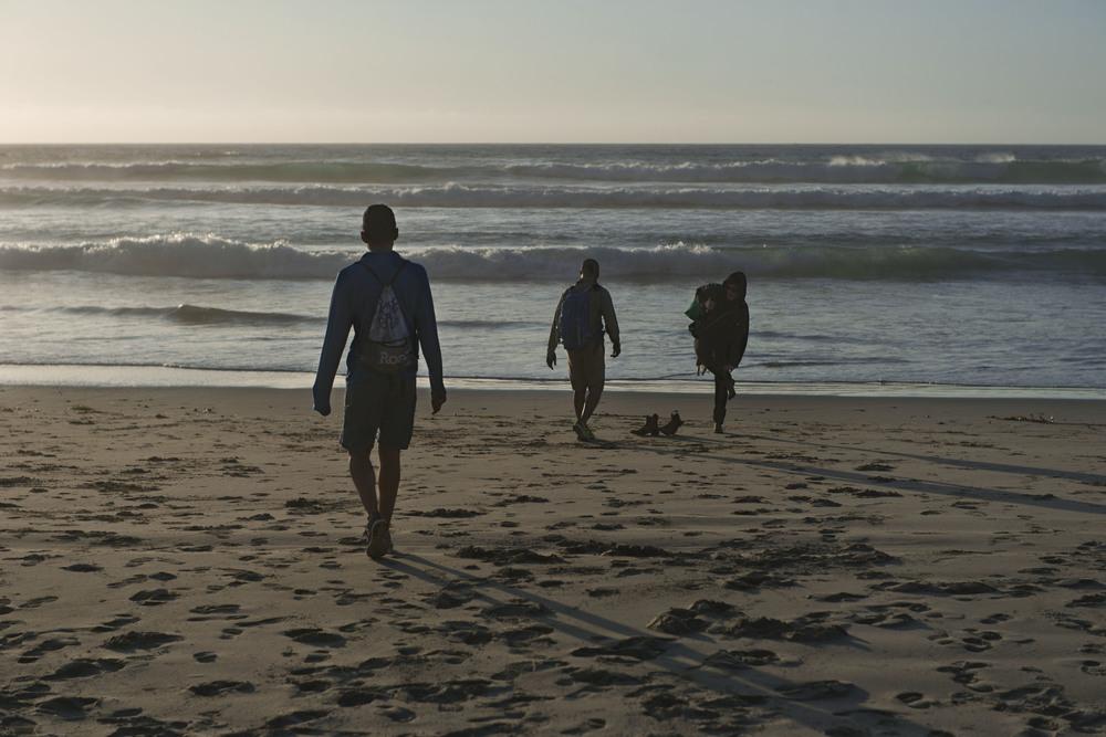 Sandy shoes, sandy socks. Big Sur, CA 2014