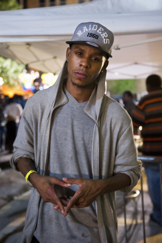 Showing solidarity at Baltimore Black Pride Festival