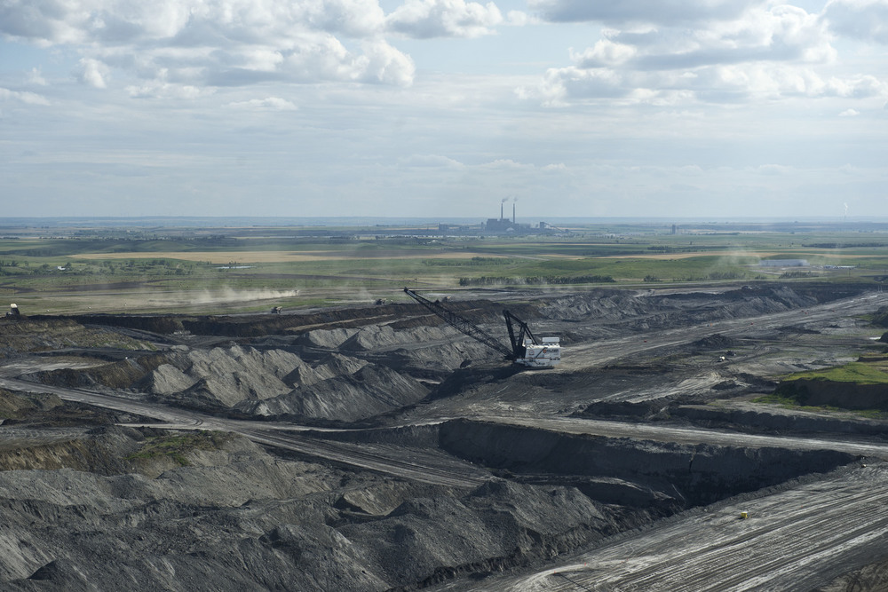 Strip Mining in McLean County, ND. 2013