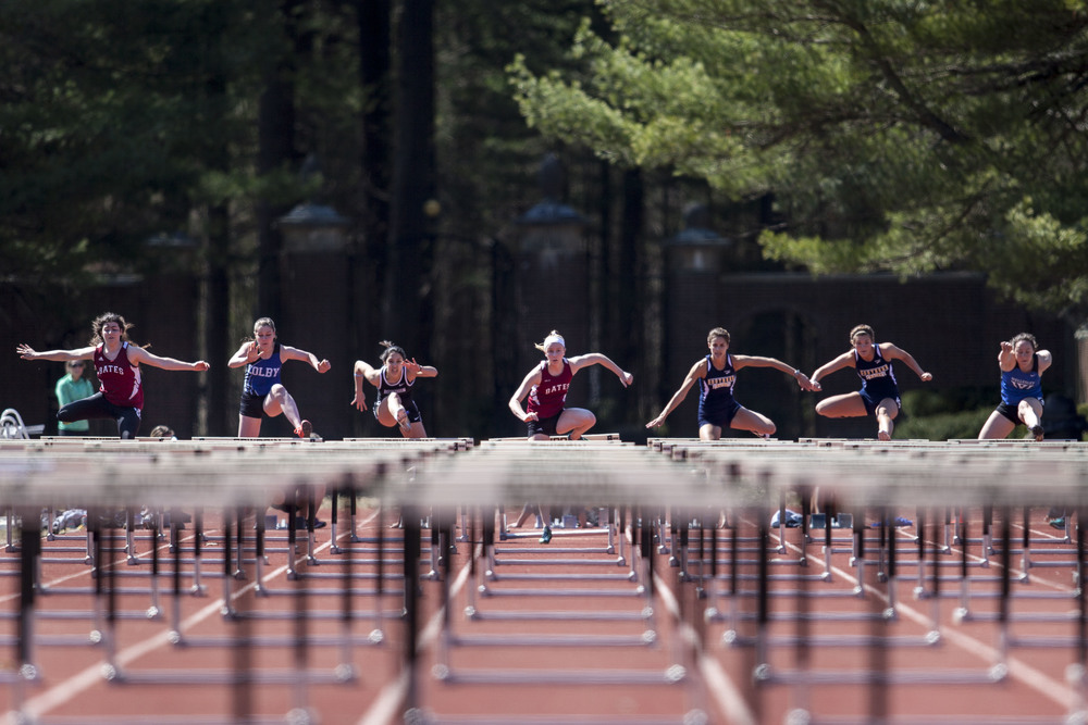 Bates participates in the 27th annual Aloha Relays at Bowdoin College