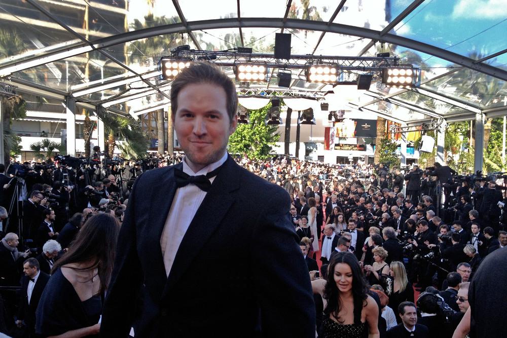 Ryan Geiger Cannes Red Carpet