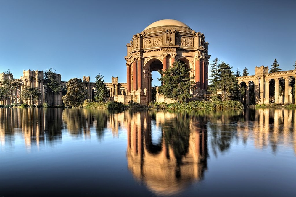 Palace of Fine Arts, San Francisco by Bernard Maybeck