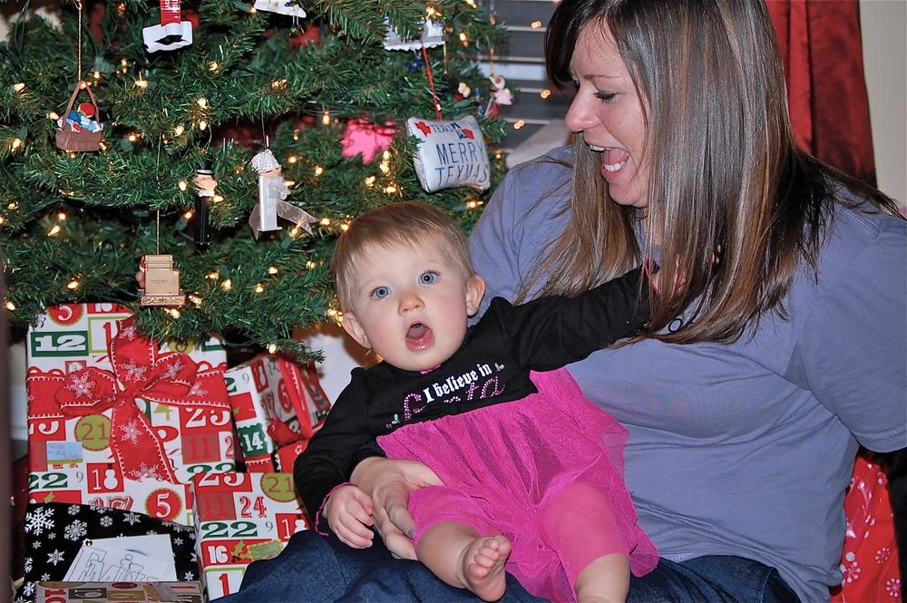 Wacky faces from Emily & #BabyMadison