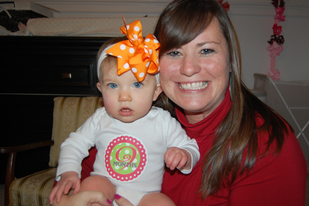 #BabyMadison is 9 months old today!