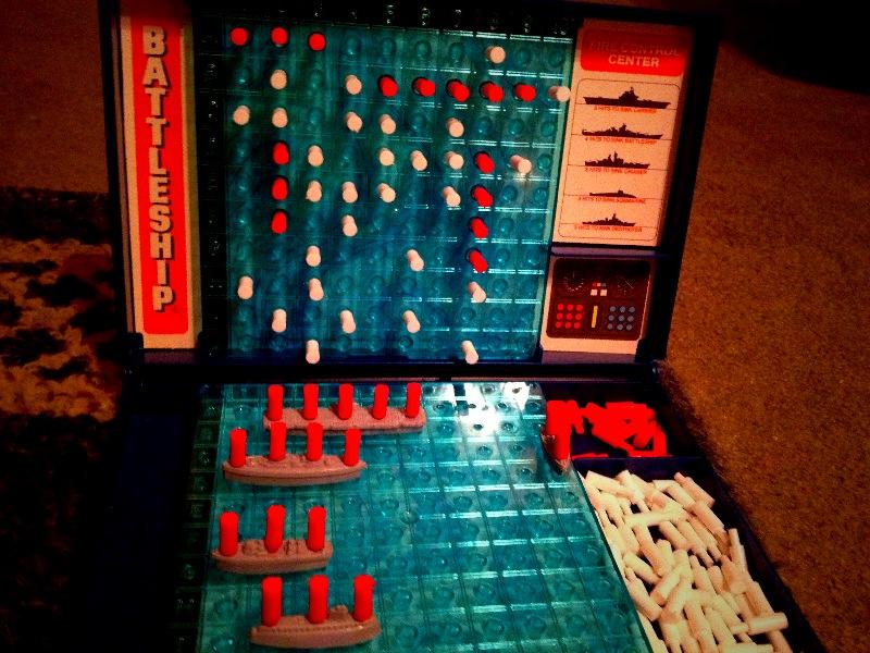 Thanksgiving game #Battleship #original
