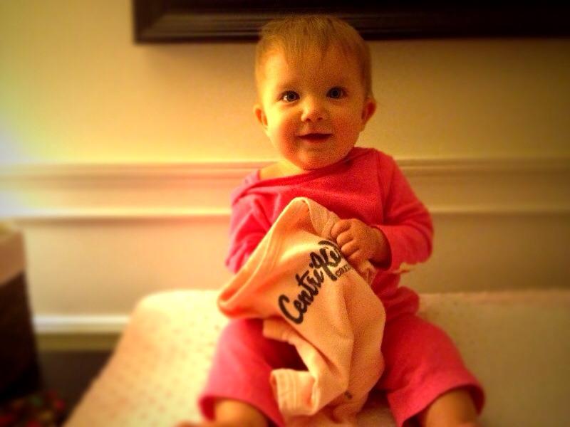 #BabyMadison & I getting ready for #NationalOMCDay for @centrikidcamps #kidmin