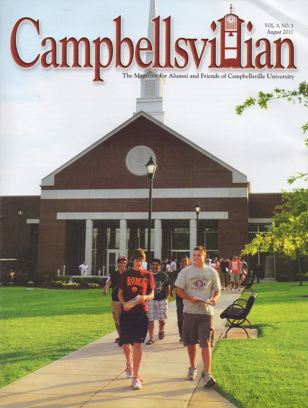 @centrikidcamps article about @CampbellsvilleU last summer
