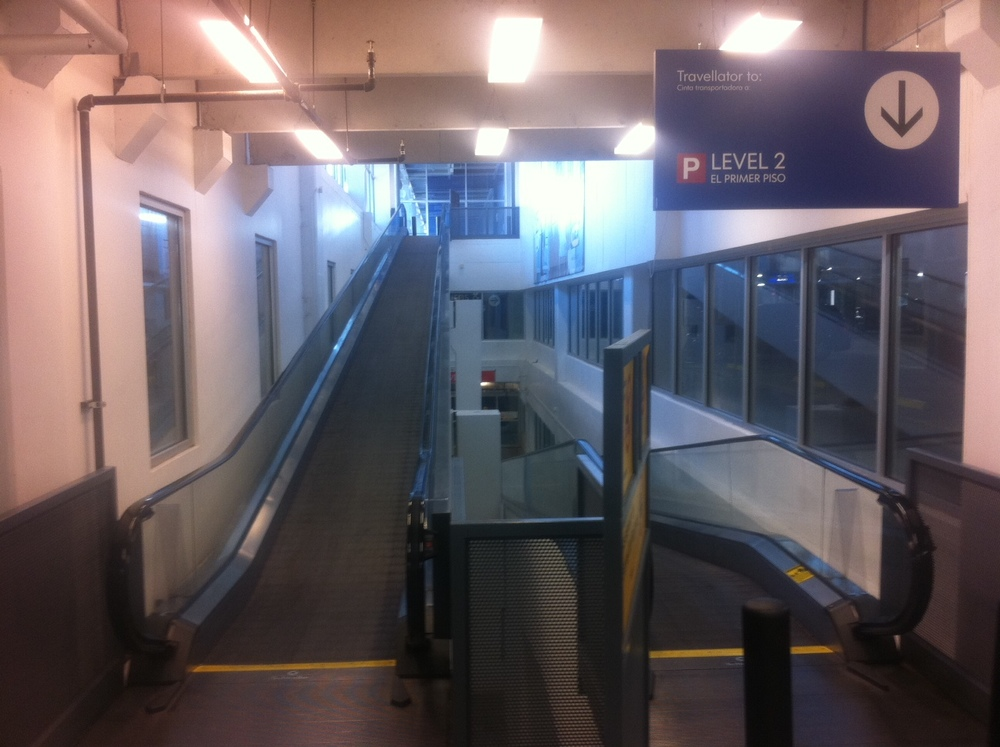 Today is a poll: When you approach a moving walkway or an escalator, do you get on it and stand there or do you walk on it so you get to the end of it quicker?