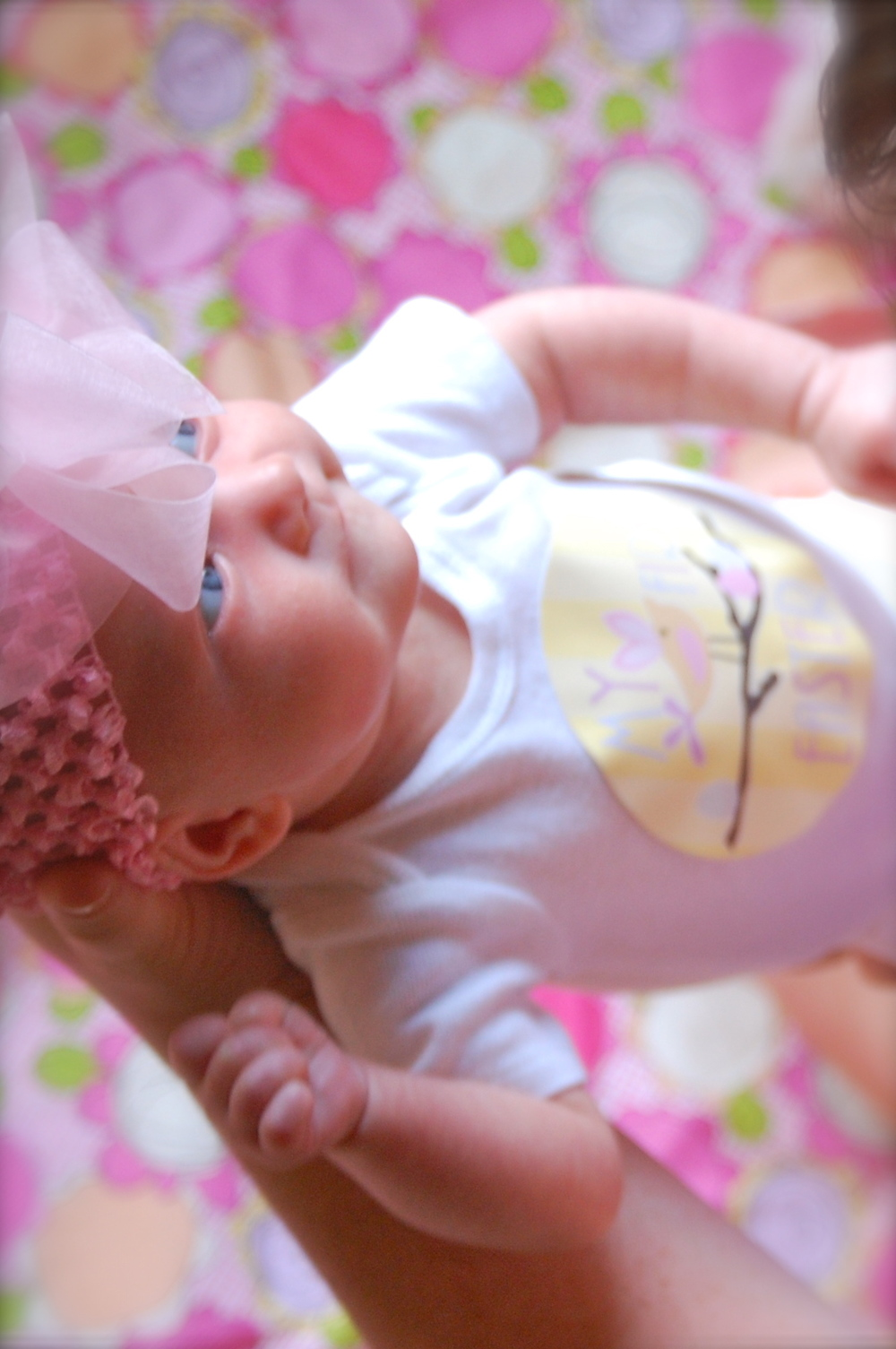 First Easter Pics for #BabyMadison