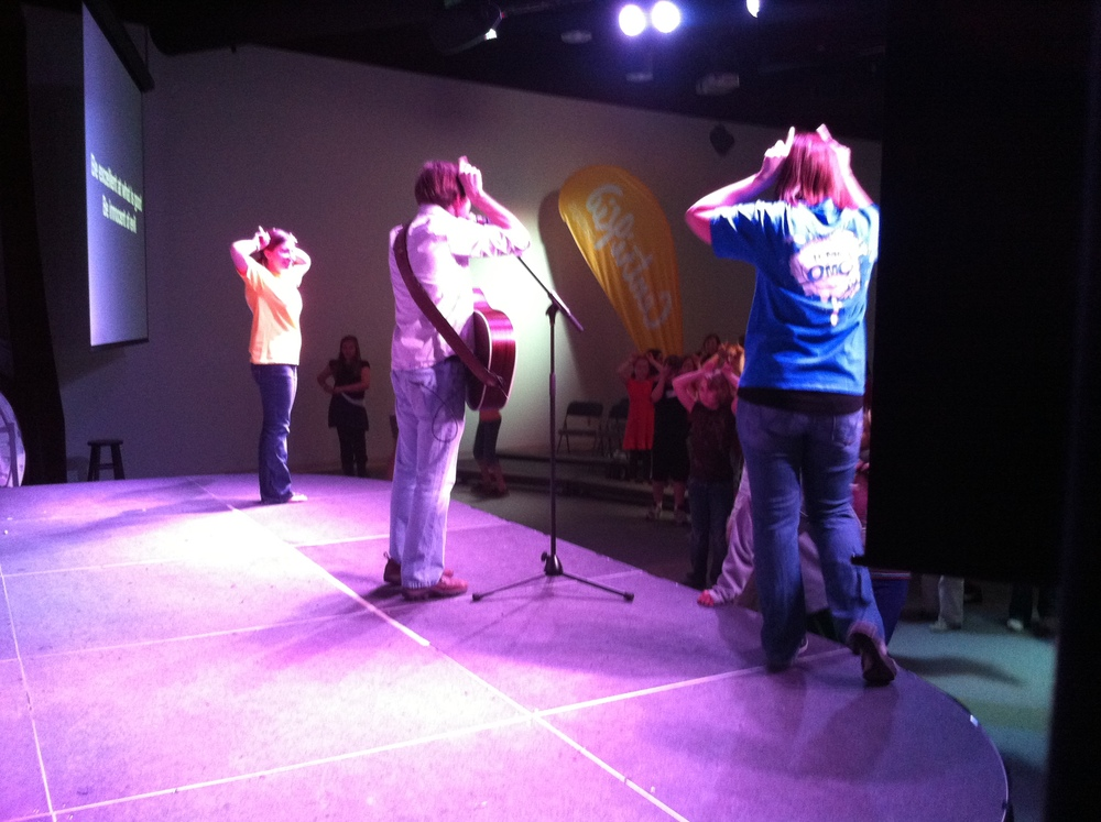 Fun @centrikidcamps Games & Worship Songs at Clearview