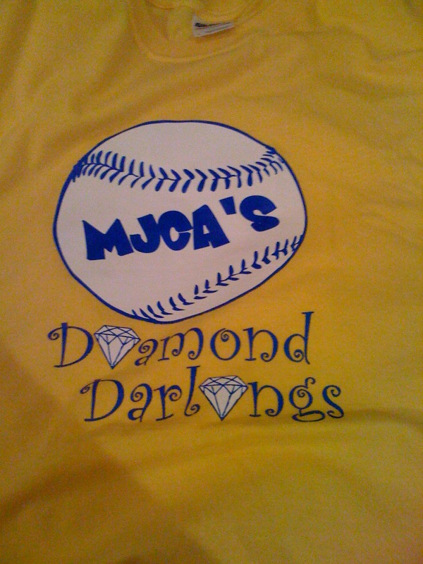 This will be the shirt for the elementary softball camp done by Mrs. Coach Echols .... and these girls will also get a chance to be the ballgirl at MJCA home softball games in 2011.