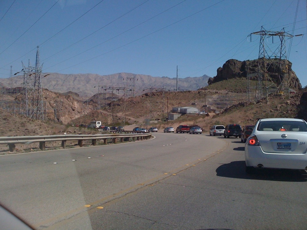 Mar 15: road trip to Hoover Dam