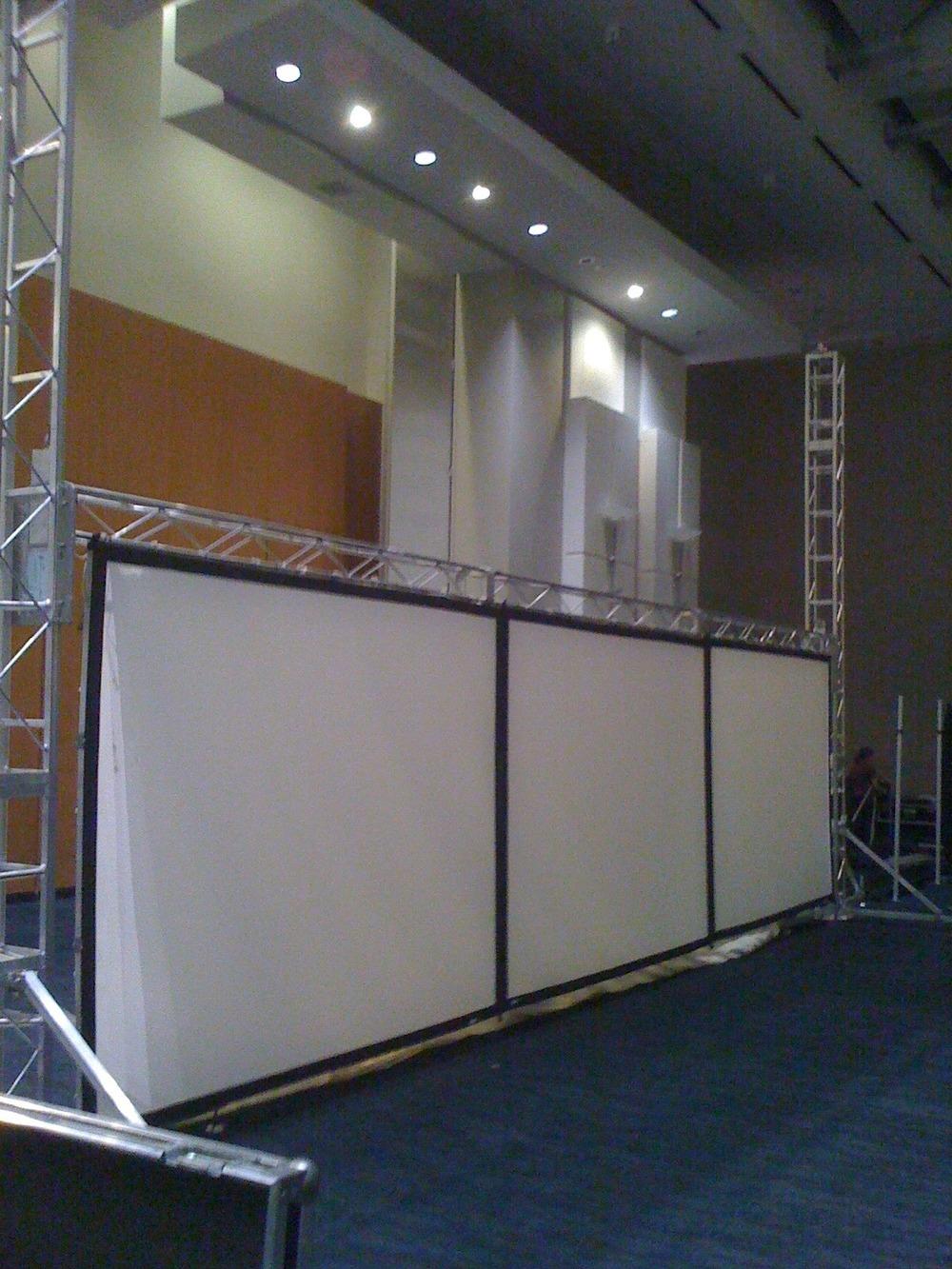 Lifeway Kids Conference Setup