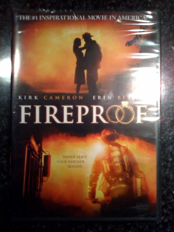 Fireproof is on sale at target for $13. Go get a copy if you don't have one yet. Sent from my iPhone