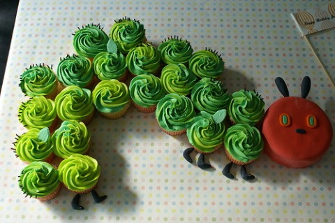 I love cupcakes and I love my dog Ladybug....if I have to spell this one out any more, it will take all the fun out of it.