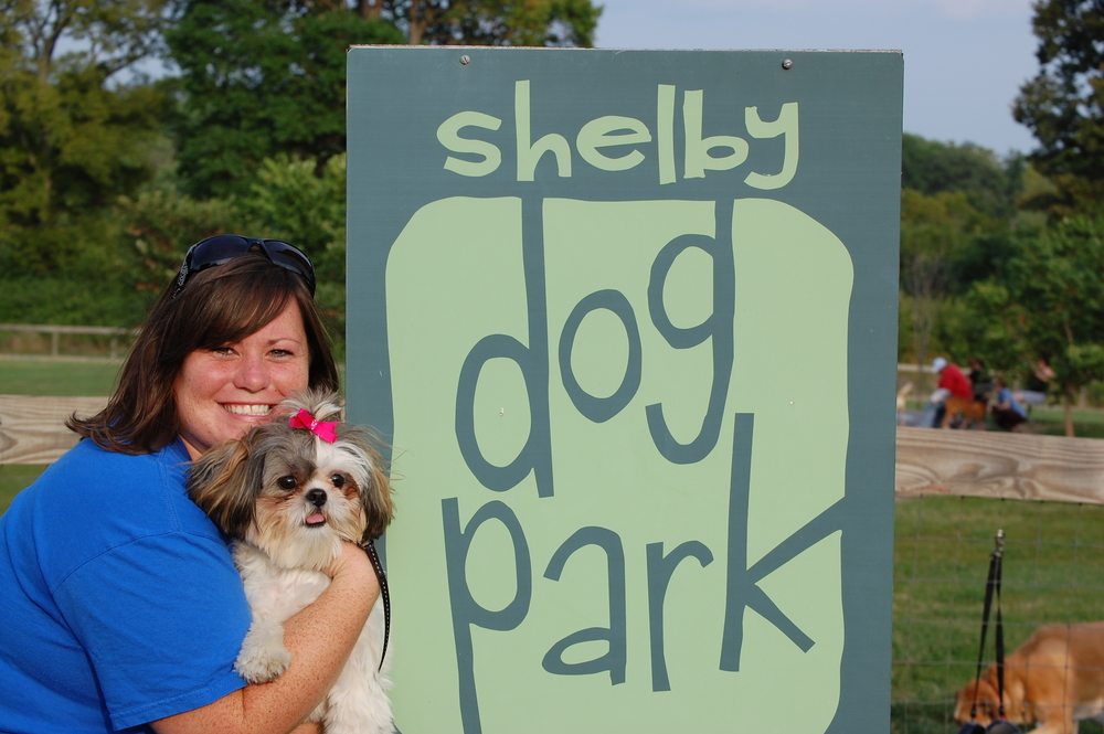 Labor Day at the Dog Park downtown