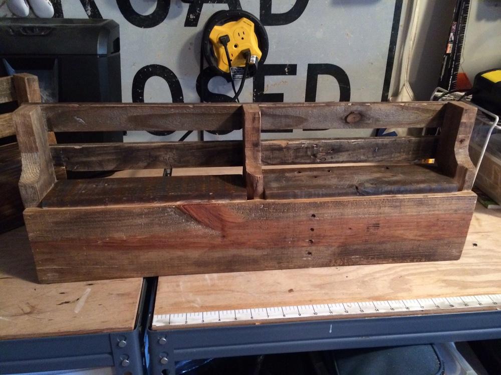 Reclaimed Wooden Shelf