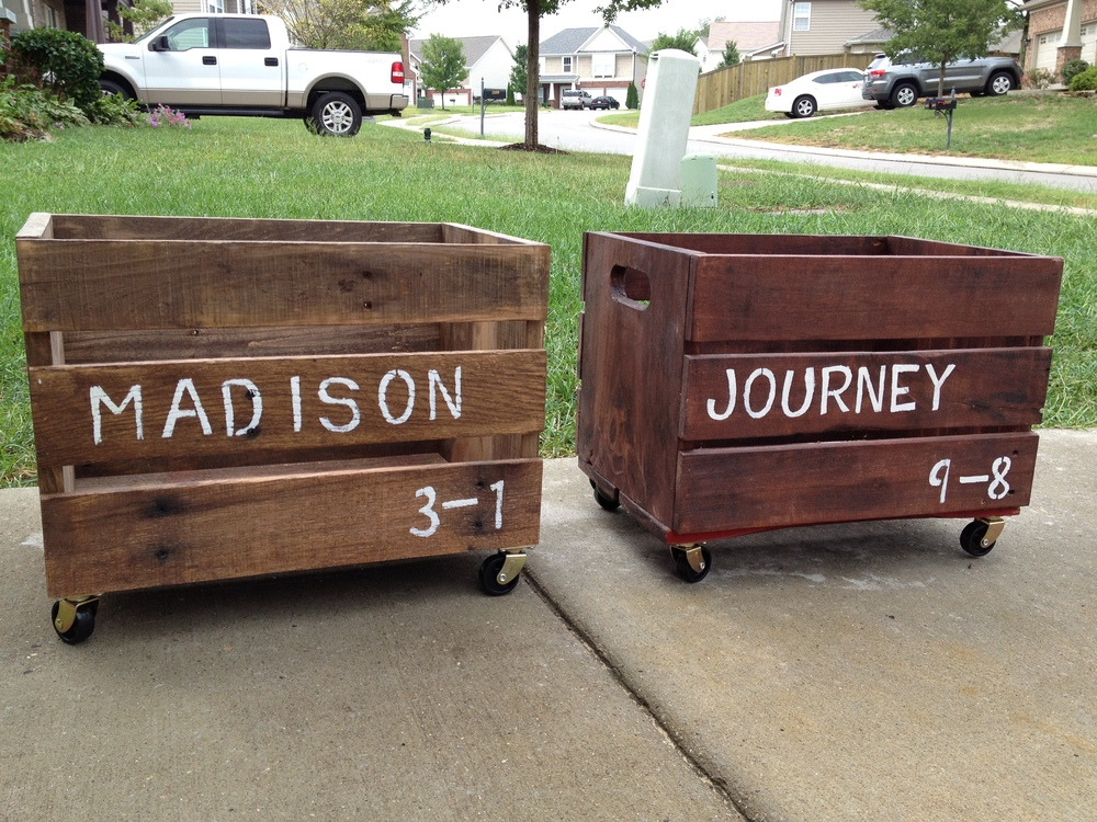 Personalized Toy Cart